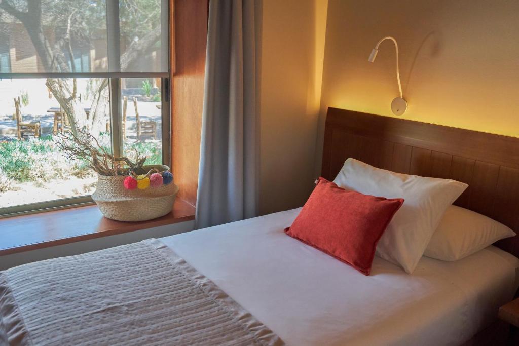 Posteľ alebo postele v izbe v ubytovaní Hotel La Casa de Don Tomás