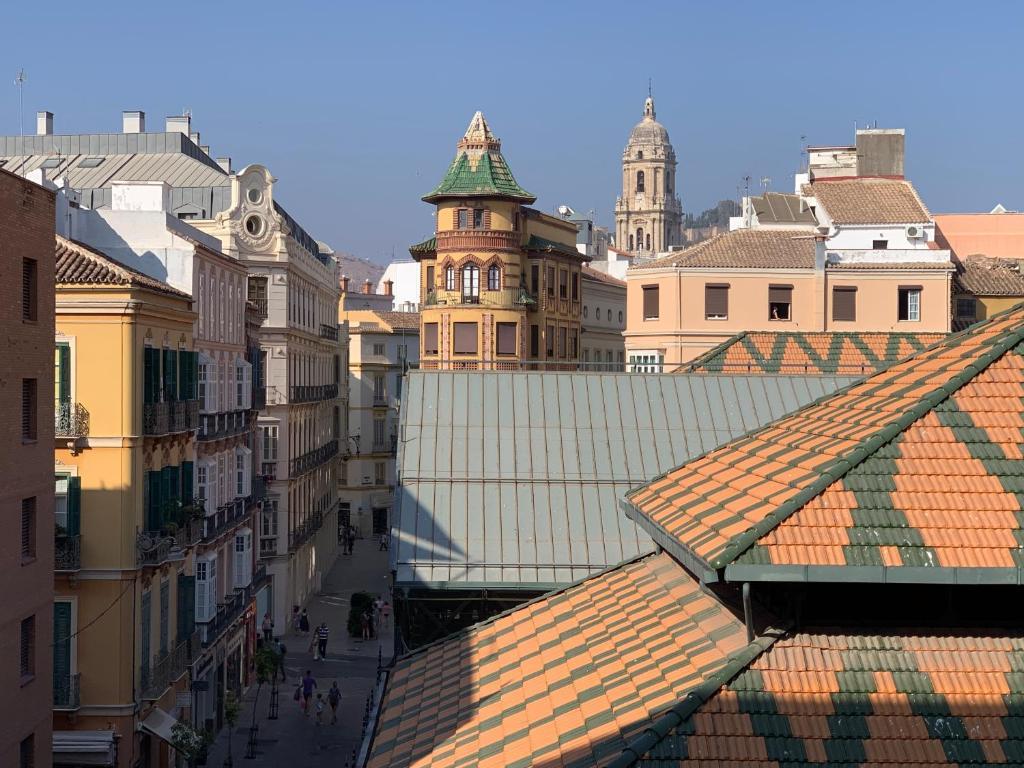 Malaga Altstadt Karte.Ferienwohnung Mercado Antiguo Centro Historico Spanien