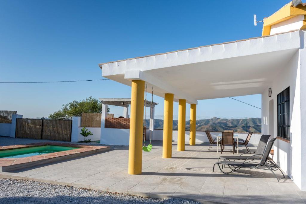 Casa rural el nogal. El Borge, la Axarquia (Spanien Málaga ...