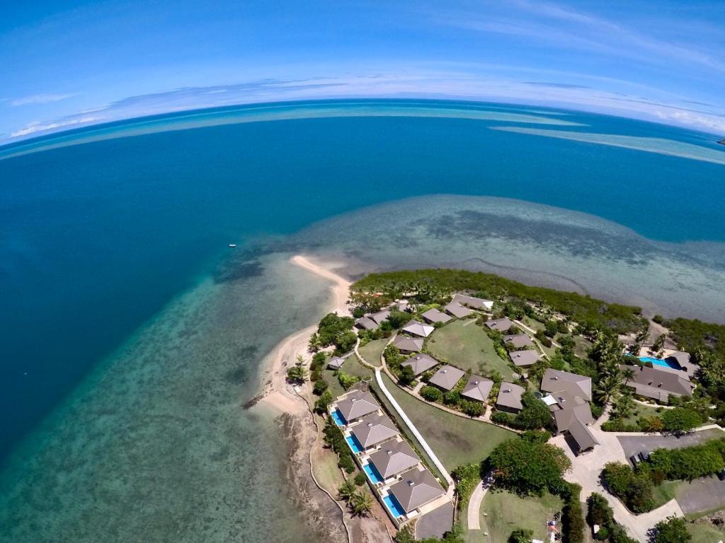 Άποψη από ψηλά του Volivoli Beach Resort
