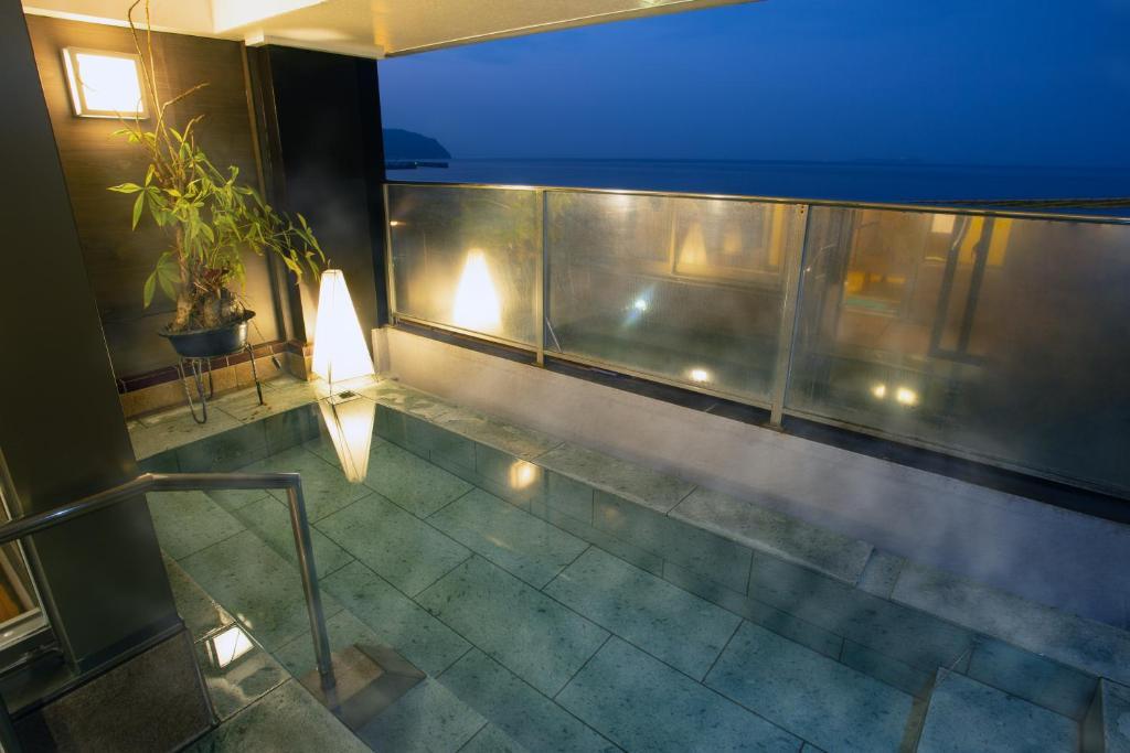ポイント2.2室限定の露天風呂付客室