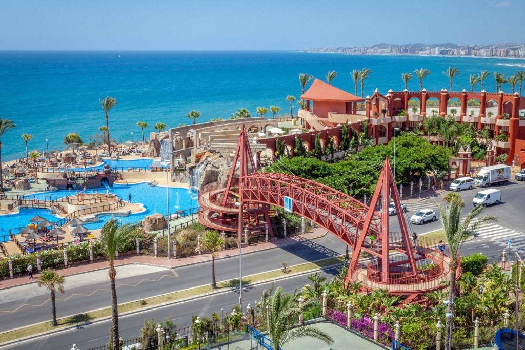 Holiday World Resort a vista de pájaro