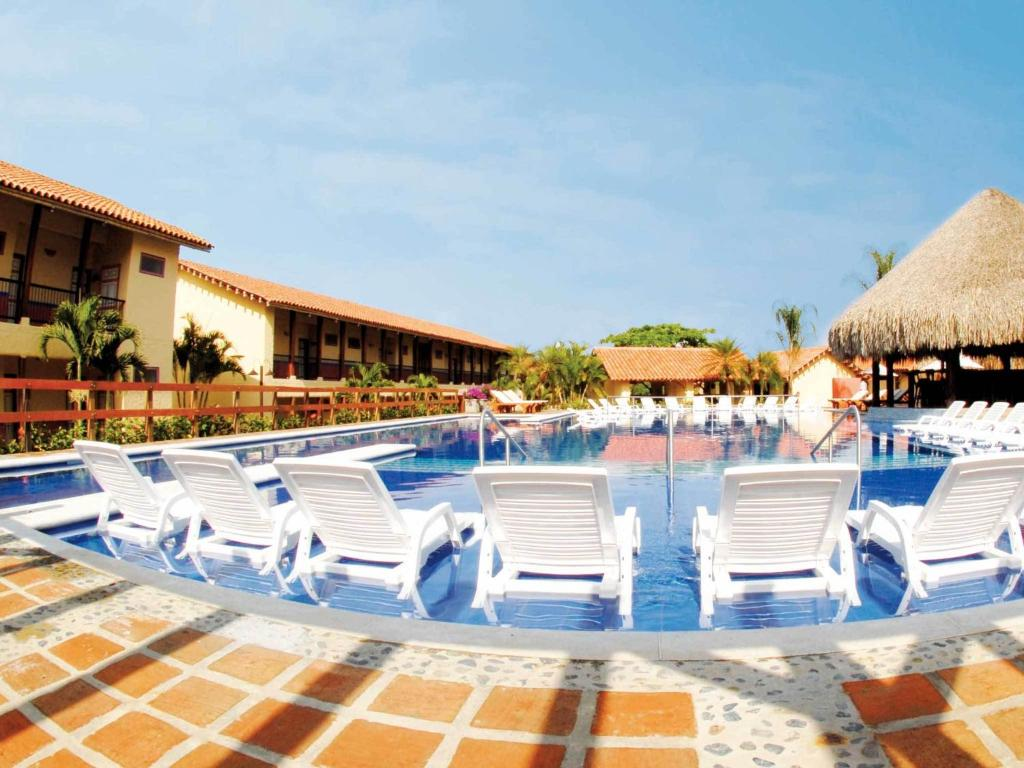 The swimming pool at or near Decameron Panaca - All Inclusive