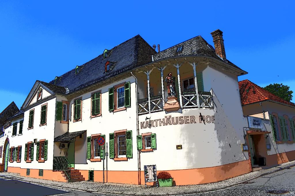 Hotel Karthäuser Hof during the winter