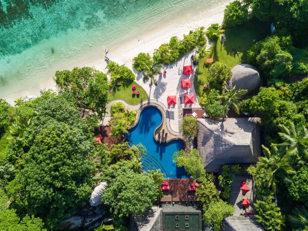 Άποψη από ψηλά του MAIA Luxury Resort & Spa Seychelles