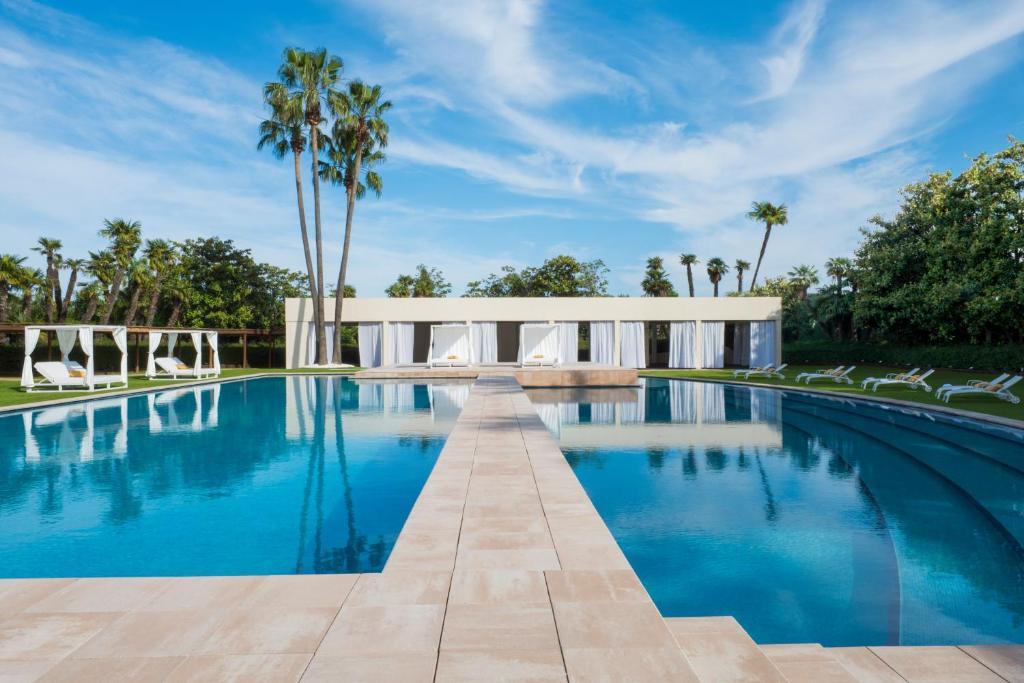 The swimming pool at or near Fairmont Rey Juan Carlos I