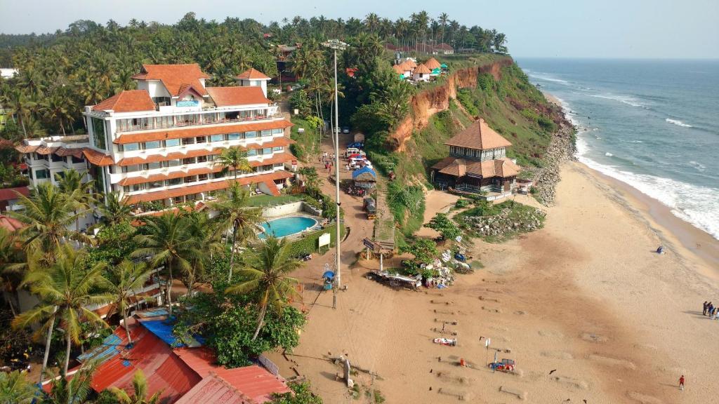 A bird's-eye view of Hindustan Beach Retreat