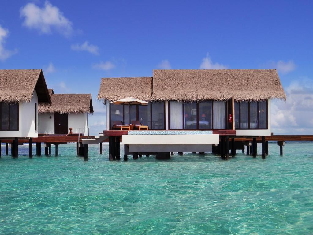 Мальдивы вилла на воде