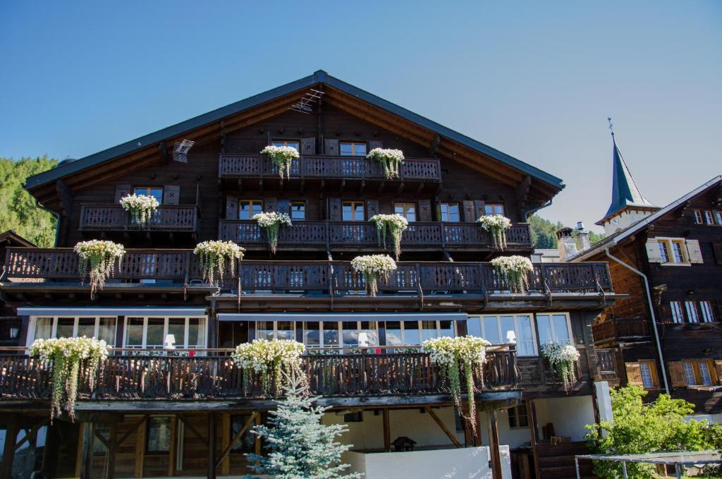 Hôtel Le Gd Chalet Favre (Suíça Saint-Luc) - Booking.com
