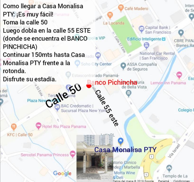Panama Subway Map.Hostel Casa Monalisa Pty Panama City Panama Booking Com