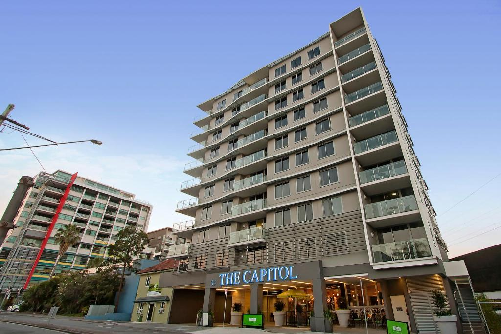 Brisbane Appartments: The Capitol Apartments, Brisbane, Australia