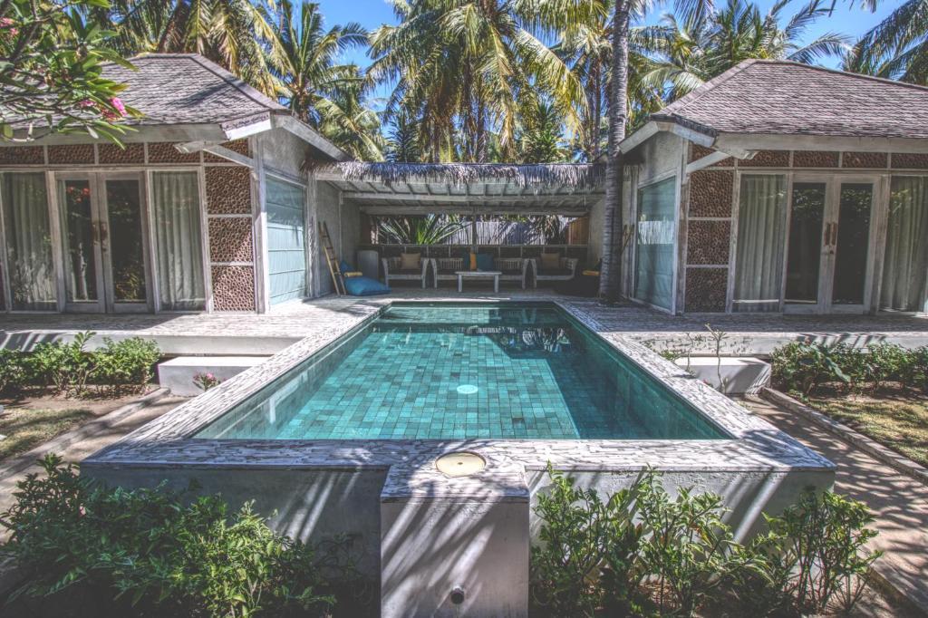 Piscine de l'établissement Sunset Palms Resort ou située à proximité
