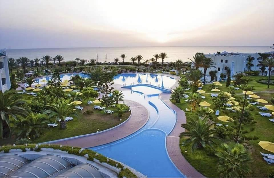 A view of the pool at Mahdia beach 4* aqua Park or nearby