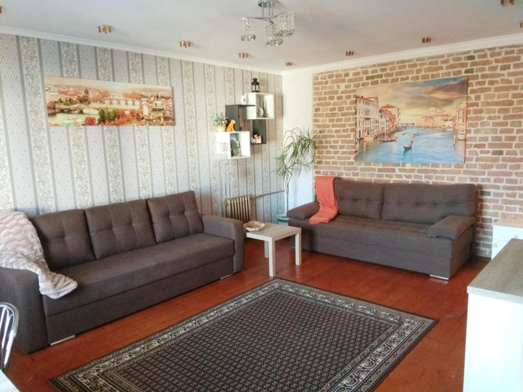 A seating area at Gogolya Sweet Apartments