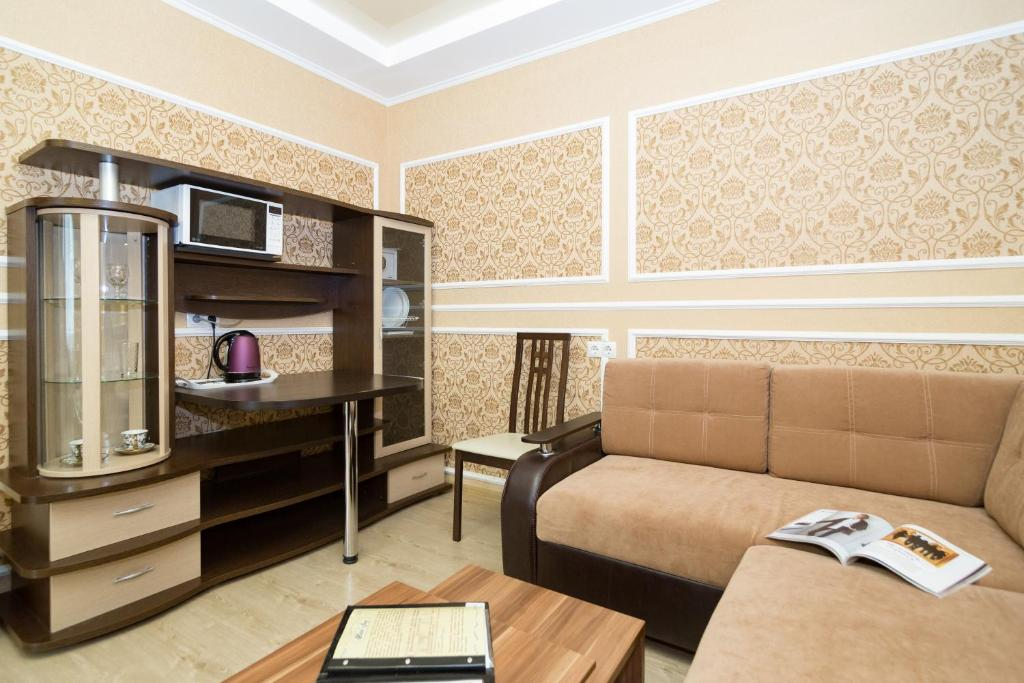Гостиная зона в Отель Joy