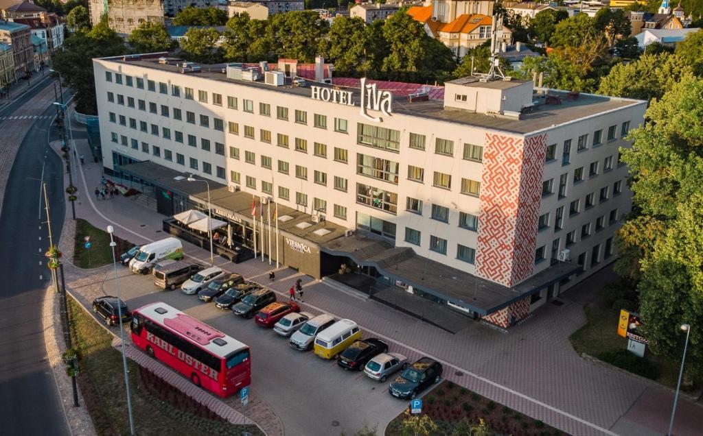 Skats uz naktsmītni Liva Hotel no putna lidojuma