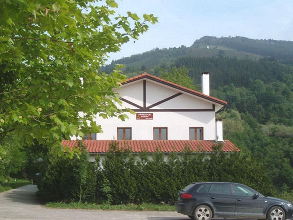 Byggnaden som gästgiveriet ligger i
