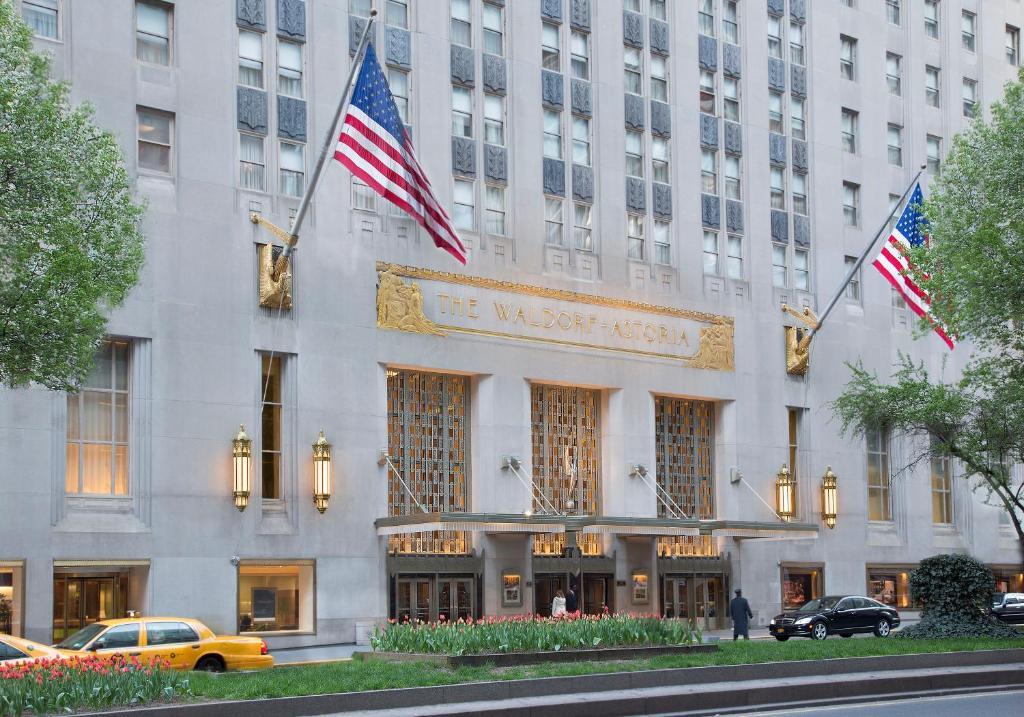 Hotel Waldorf Astoria New York, USA - Booking.com