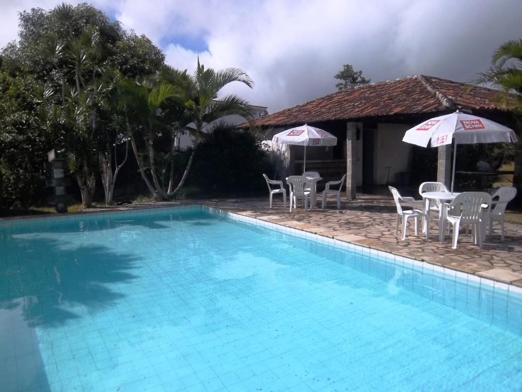 The swimming pool at or near Taberna Quinta das Colinas