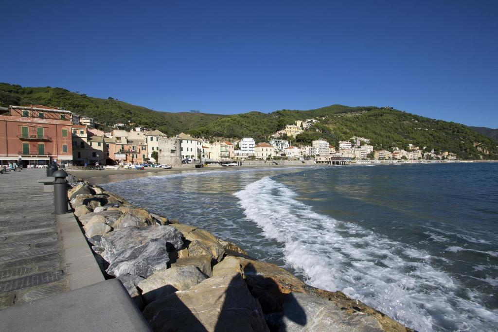 Residential complex in Laigueglia by the sea