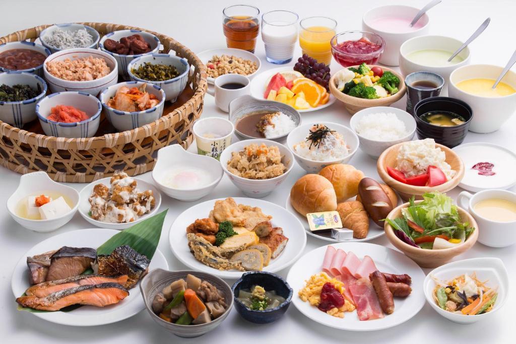 ポイント1.九州の美味しい物が勢揃い!大満足朝ごはん