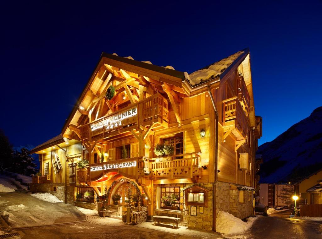Chalet mounier hotels les deux alpes france for Hotels 2 alpes