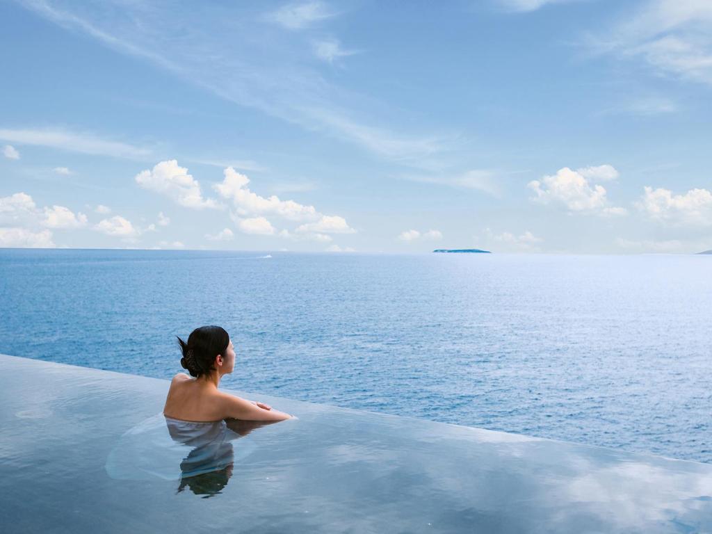 ポイント2.自然を満喫できる一体型温泉