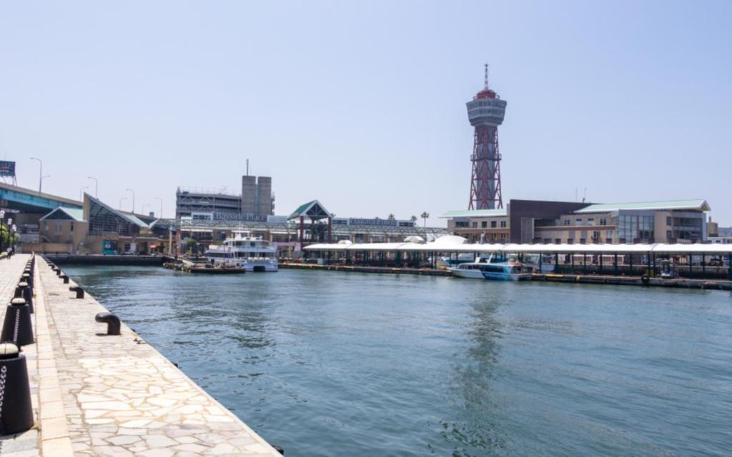 ポイント3.博多港まですぐ!博多のど真ん中の立地
