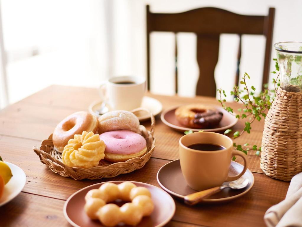 ポイント2. 朝食はミスタードーナツ
