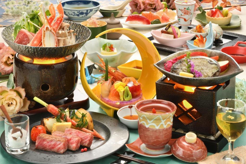 ポイント2.宮城県産食材中心のディナー