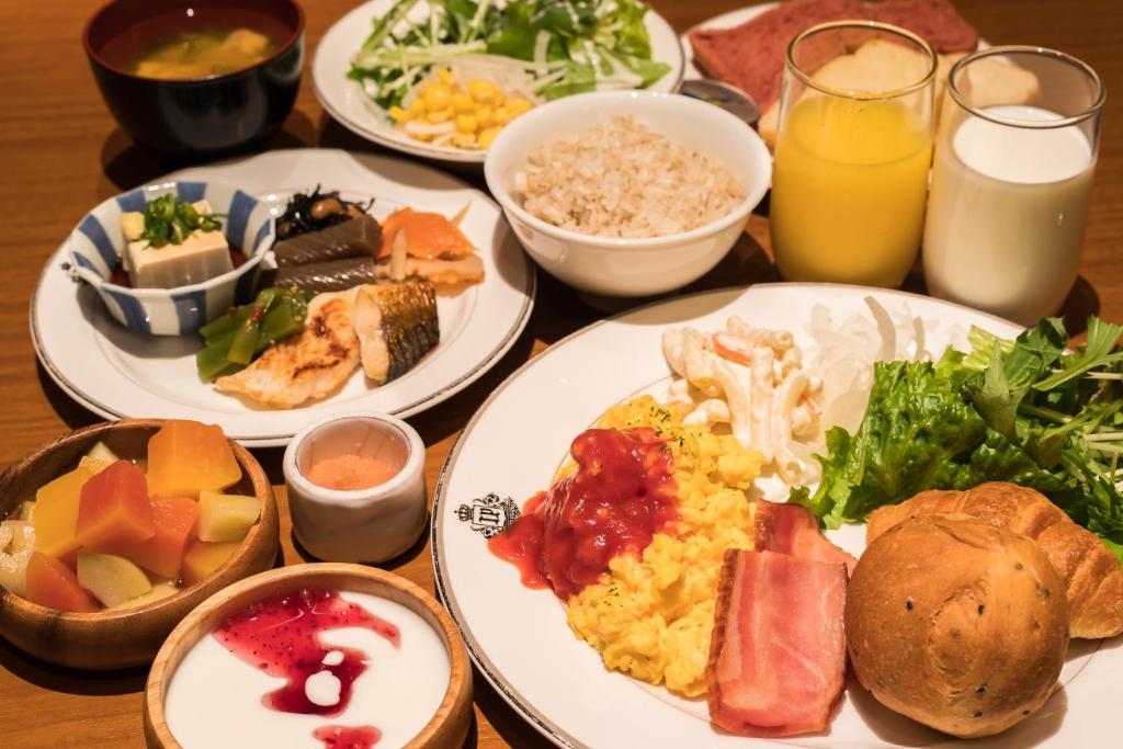 ポイント2.ビュッフェ形式の朝食