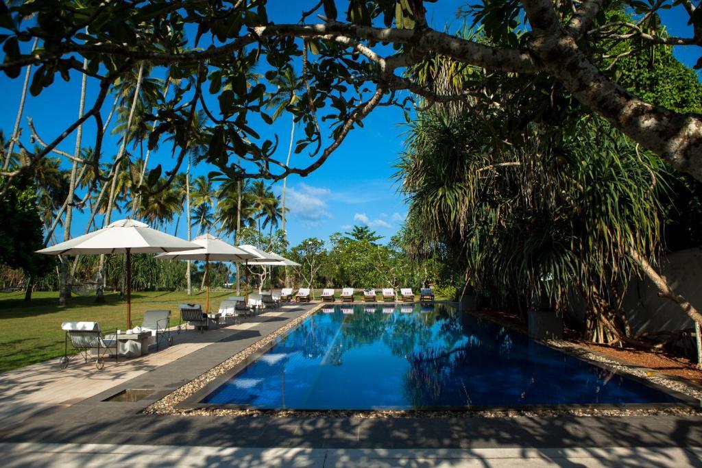 The swimming pool at or near Club Villa