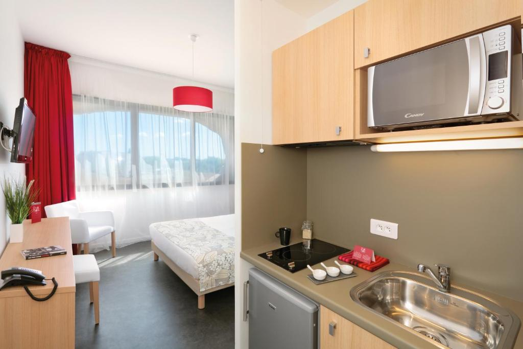 Condo Hotel AppartCity Montpellier Millnaire France  BookingCom