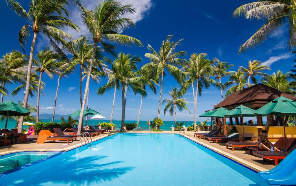 coco palm beach resort mae nam thailand. Black Bedroom Furniture Sets. Home Design Ideas