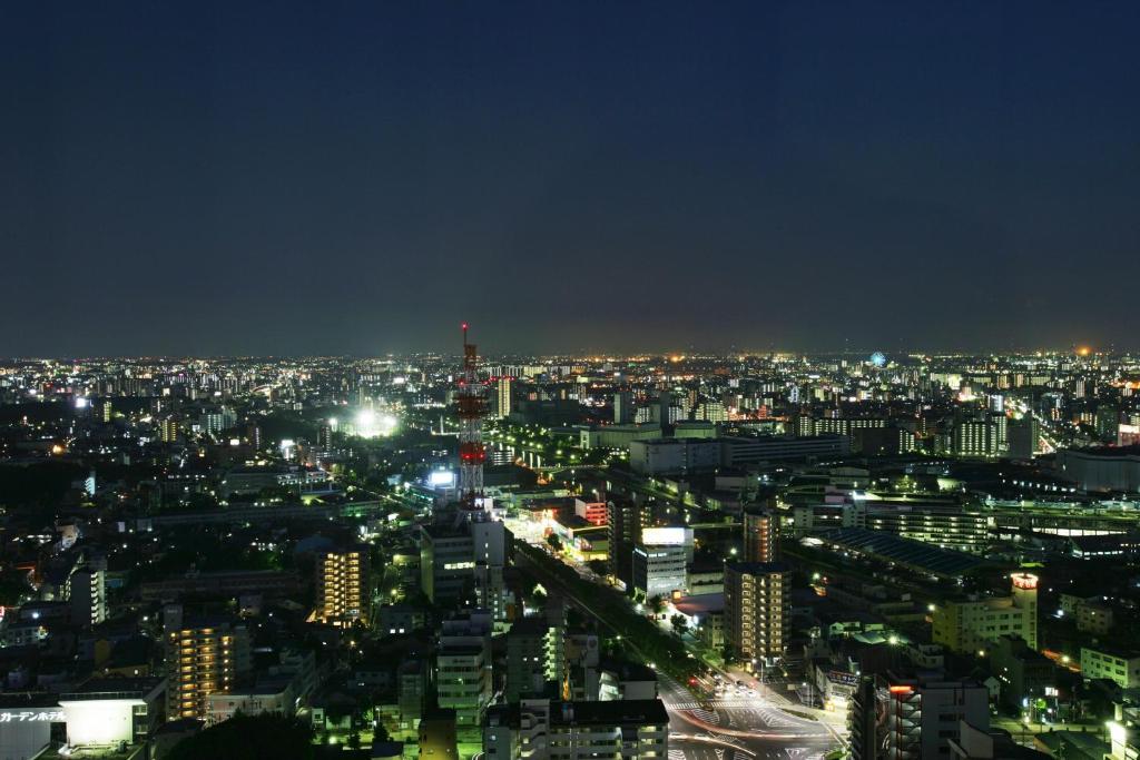 ポイント1. 名古屋を一望!ロマンチックな夜景