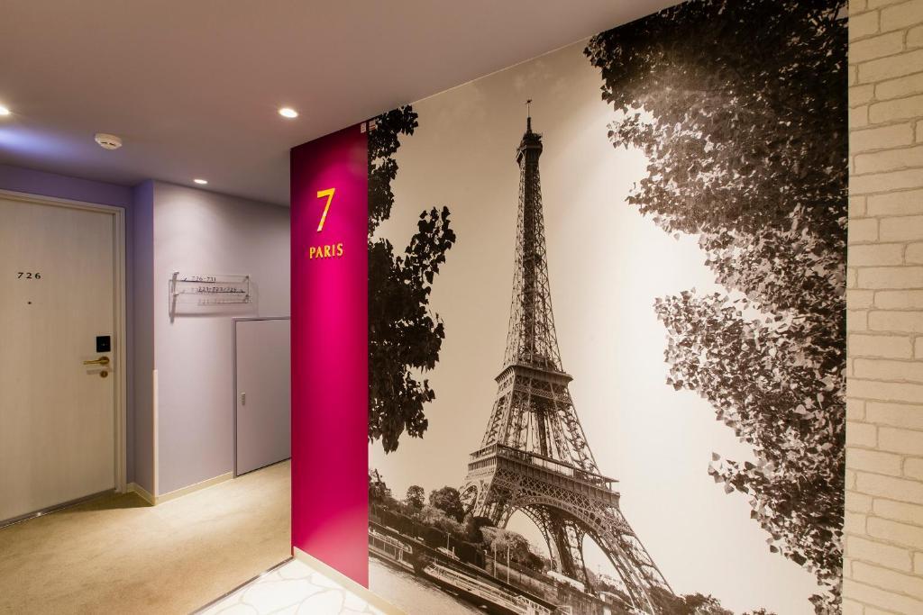 ポイント1.11の世界都市からなる楽しい客室