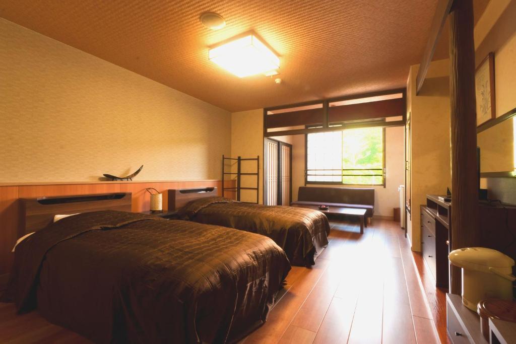 ポイント1.和室や洋室など多彩な客室