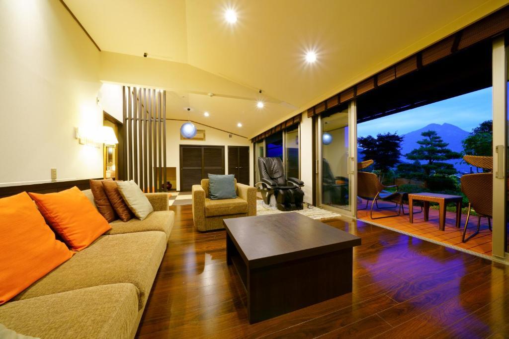 ポイント2.雄大な景色を楽しむ客室