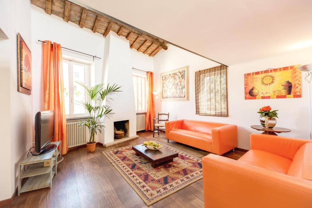 Great luxury penthouse trastevere rome updated 2018 prices gallery image of this property sciox Gallery