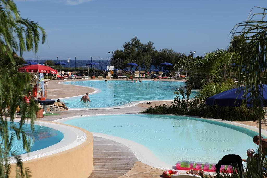 The swimming pool at or near TH Ortano Mare Residence