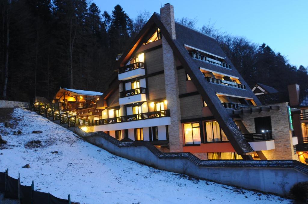 Casa Freya during the winter