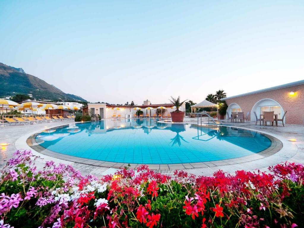 albergo parco delle agavi ischia italy
