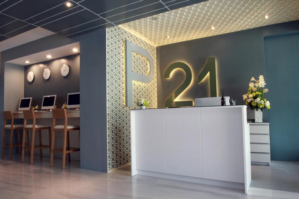 清邁P21酒店大廳或接待區