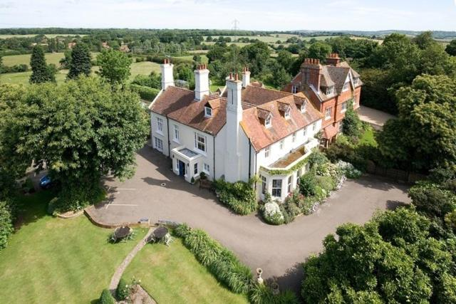 A bird's-eye view of Wartling Place Country House