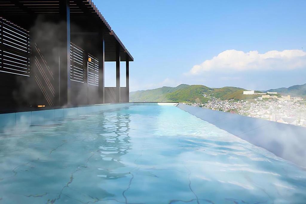 ポイント2.270度の大パノラマの景色が圧巻!露天風呂