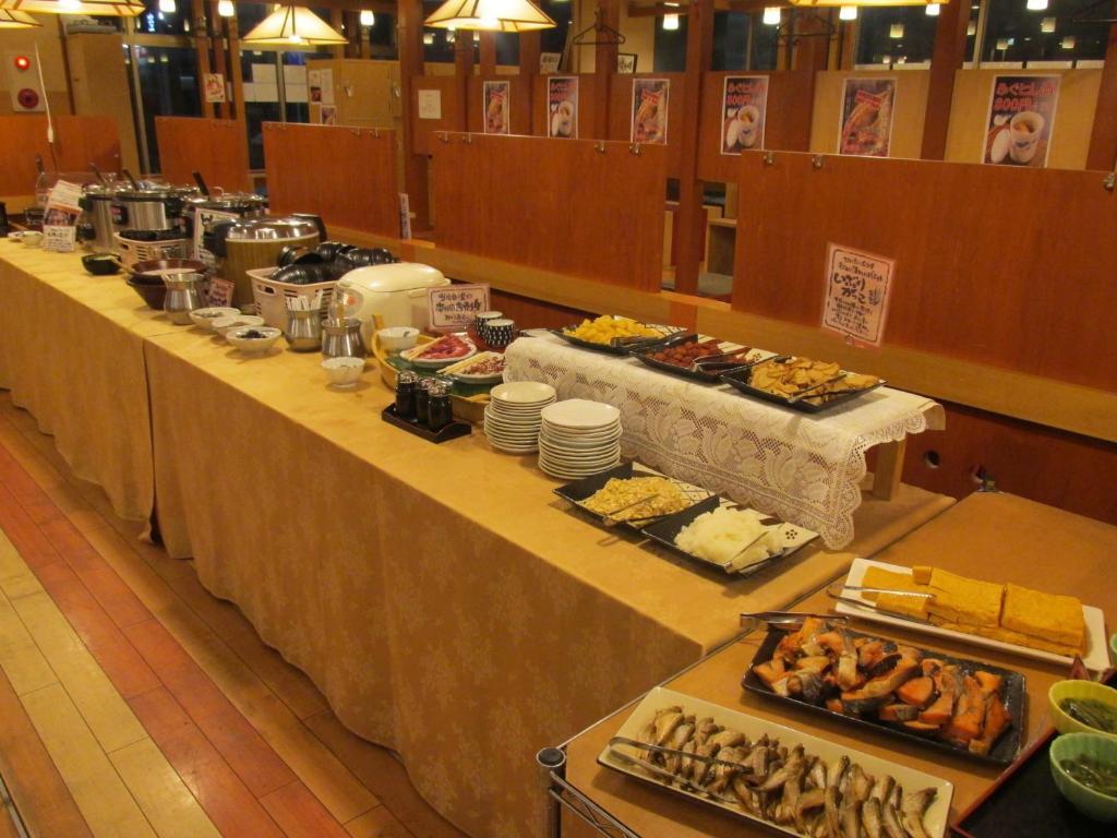 ポイント2.和・洋・秋田名物のバラエティー豊かな朝食