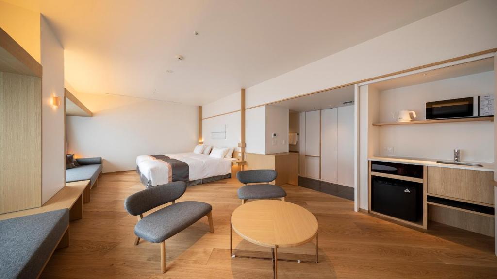 ポイント2.連泊対応可能な居心地良い客室