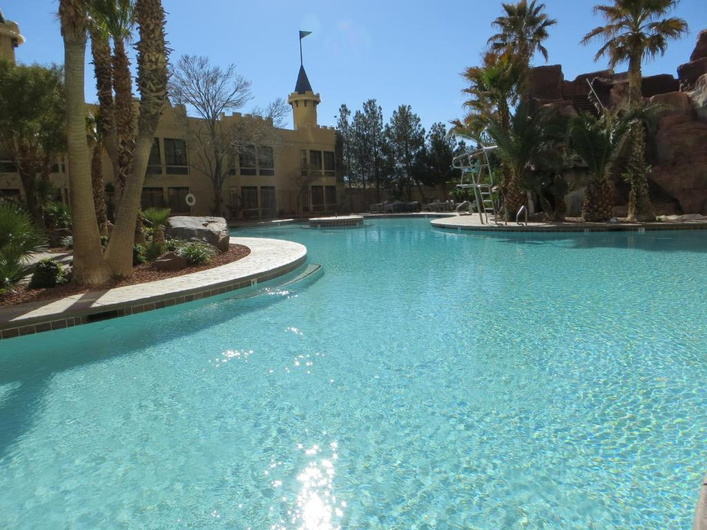The swimming pool at or near Whiskey Pete's Hotel & Casino