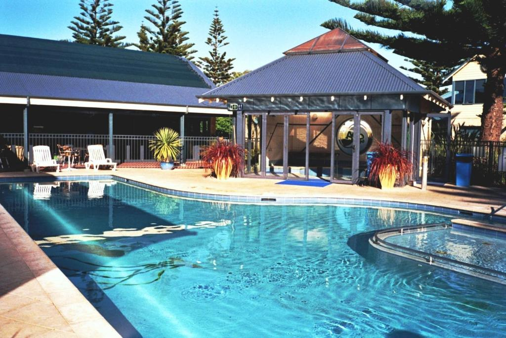 The swimming pool at or near BIG4 Middleton Beach Holiday Park