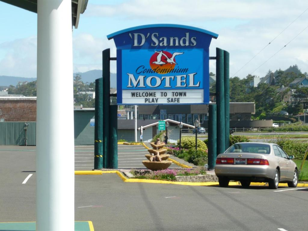 d sands condominium motel lincoln city or. Black Bedroom Furniture Sets. Home Design Ideas